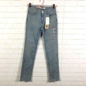 NWT Levi's 712 Slim Jeans